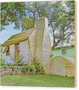 Bermuda Botanical Gardens Cottage Wood Print
