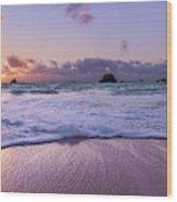Bermuda Sunrise Welcome To Heaven Crossbay Beach Wood Print