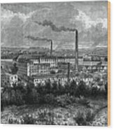 Bessbrook Mills And Village, County Wood Print