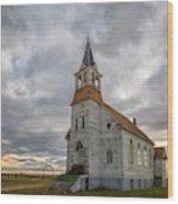 Bethel Lutheran Church II Wood Print