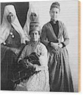 Bethlehem Women In 1886 Wood Print