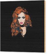 Bianca Del Rio  Wood Print