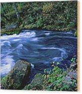 Big Spring, Ozarks National Scenic Wood Print