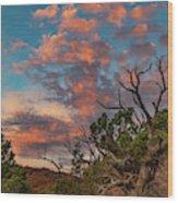 Black Canyon Sunrise Wood Print