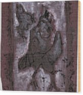 Black Ivory Issue 1b15 Wood Print