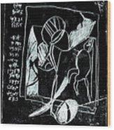 Black Ivory Issue 1b17a Wood Print