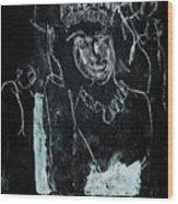 Black Ivory Issue 1b9a Wood Print