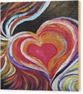 Black Love Is . . . Wood Print