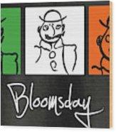 Bloomsday Wood Print