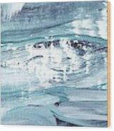 Blue #12 Wood Print