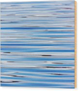 Blue Water Abstract 8621 Wood Print