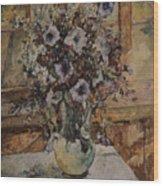 Bluebells, 1939-1940. Found Wood Print