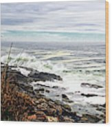 Blustry Passion Wood Print