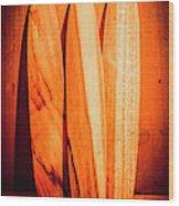 Boarding House Wood Print