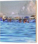 Boat Party Toronto  Wood Print