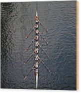 Boat Race Wood Print