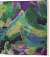 Bold Tropical Dreams- Art By Linda Woods Wood Print