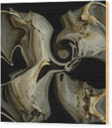 Bone Garden Wood Print