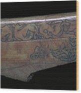 Bone Viking Trewiddle-style Trial-piece Wood Print