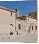 Boquer Valley Building In Majorca Wood Print