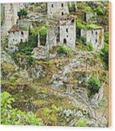 Borgo S. Severino Di Centola, An Wood Print