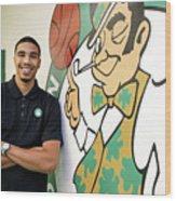 Boston Celtics Introduce Jayson Tatum Wood Print