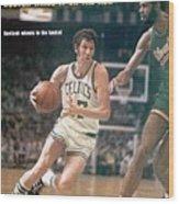 Boston Celtics John Havlicek, 1974 Nba Finals Sports Illustrated Cover Wood Print