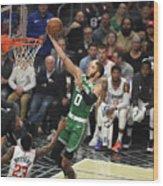 Boston Celtics V La Clippers Wood Print