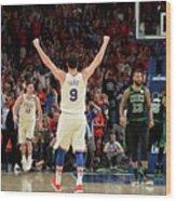 Boston Celtics V Philadelphia 76ers - Wood Print