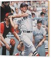Boston Red Sox Carl Yastrzemski... Sports Illustrated Cover Wood Print