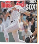 Boston Red Sox Dwight Evans... Sports Illustrated Cover Wood Print