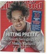Boston Red Sox Manny Ramirez Sports Illustrated Cover Wood Print