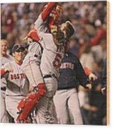 Boston Red Sox V Colorado Rockies Wood Print