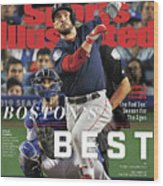 Bostons Best Boston Red Sox, 2018 World Series Champions Sports Illustrated Cover Wood Print