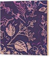 Botanical Branching Wood Print