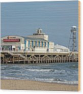 Bournemouth Pier 3 Wood Print