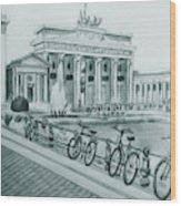 Brandenburg Gate - Berlin Wood Print