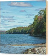 Bras D'or Lake, Cape Breton Nova Scotia, Canada Wood Print