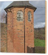 Bratch Locks Toll House Wood Print