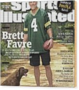 Brett Favre, Where Are They Now Sports Illustrated Cover Wood Print