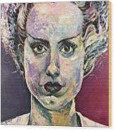 Bride Of Frankenstein Wood Print