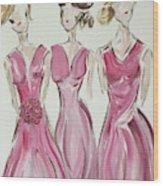 Bridesmaids Wood Print