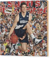 Brigham Young University Jimmer Fredette, 2011 March Sports Illustrated Cover Wood Print
