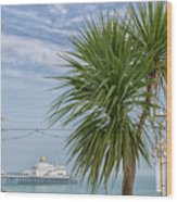 Brighton Wood Print