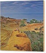 Broken Hill Panoramic II Wood Print