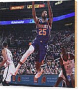 Brooklyn Nets V Phoenix Suns Wood Print