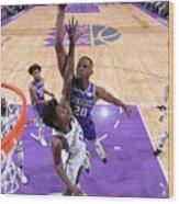 Brooklyn Nets V Sacramento Kings Wood Print