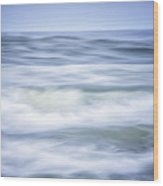 Brush Strokes Wave Art Wood Print