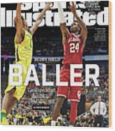 Buddy Hield Baller Sports Illustrated Cover Wood Print