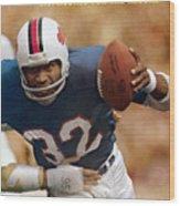 Buffalo Bills O.j. Simpson... Sports Illustrated Cover Wood Print